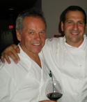 Aram Mardigian '94 with Wolfgang Puck